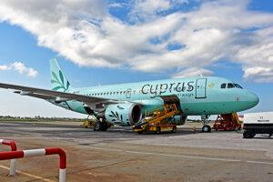 Lietadlo spoločnosti Cyprus Airways.