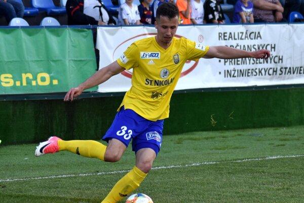 Martin Kolesár si proti Trenčínu vyskúšal post ľavého obrancu. Dúfa, že nastupovať bude aj naďalej.
