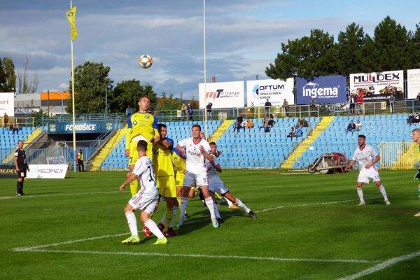 FC Košice nemali s Ružomberkom B problémy.