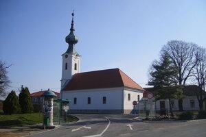 Centrum Zemianskej Olče.