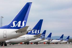 Scandinavian Airlines.