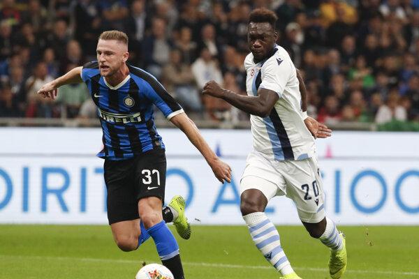 Milan Škriniar v drese Interu Miláno.