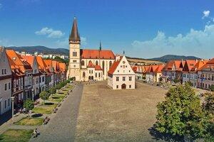 Mesto Bardejov.