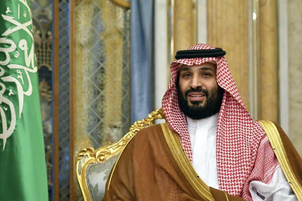 Saudskoarabský korunný princ Muhammad bin Salmán.