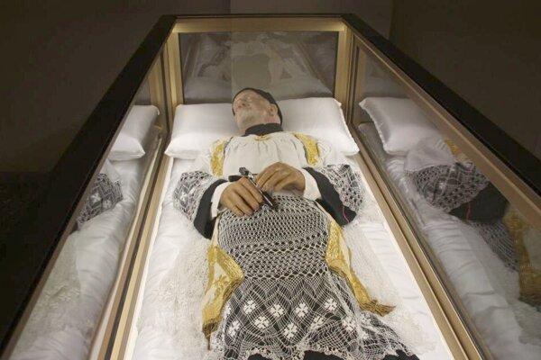 Relikvie sv. Vincenta.