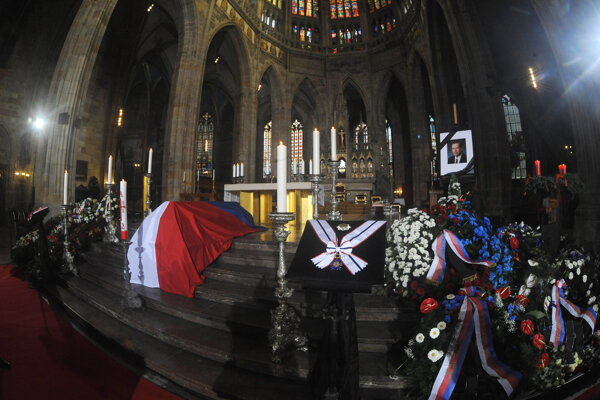 Česko naposledy zažilo štátny pohreb v roku 2011, keď zomrel Václav Havel.