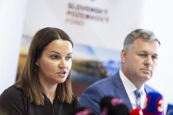 Generálna riaditeľka Slovenského pozemkového fondu Adriana Šklíbová.