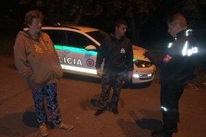 Policajti našli a chytili páchateľa blízko miesta činu.