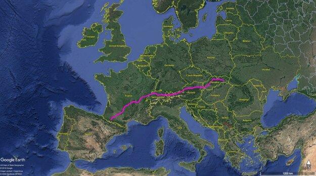 2400-kilometrový štafetový beh za chudobných Košice - Lurdy.