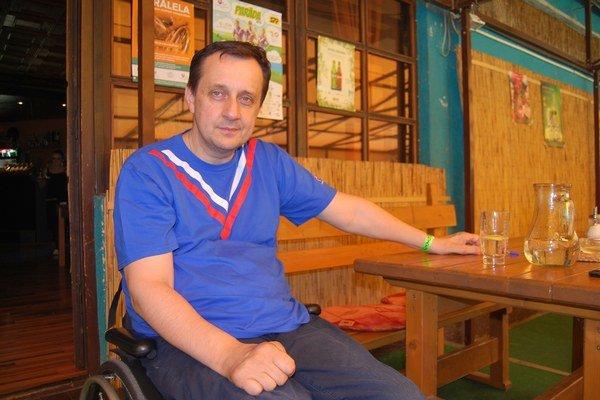 Predseda Slovenského paralympijského výboru Ján Riapoš.