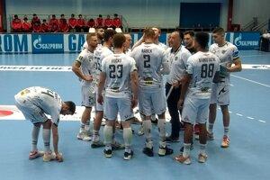 Slovenský hádzanársky šampión nedal Pekingu v Záhrebe žiadnu šancu.