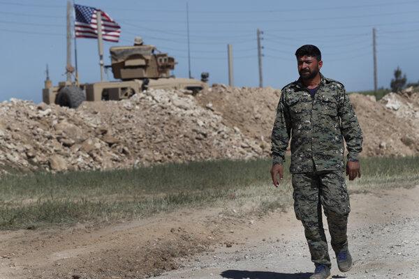 Sýrske milície sa už na americkú pomoc spoliehať nemôžu.