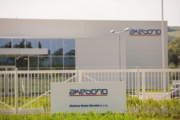 Akebono plánuje otvoriť výrobnú halu už tento mesiac.