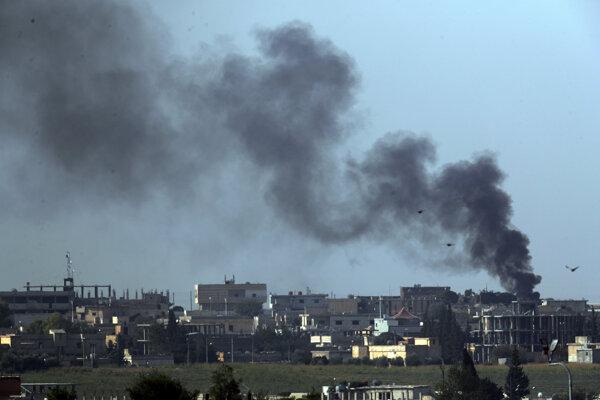 Turecko útočí v Sýrii.