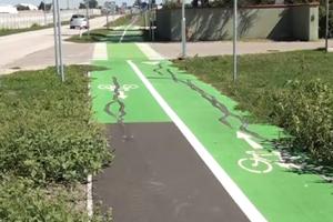 Cyklotrasu opraví dodávateľská firma.