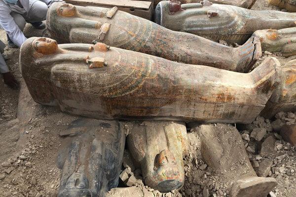 V Luxore objavili nové sarkofágy.