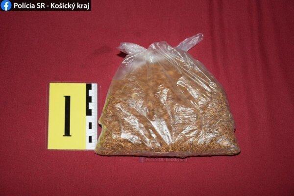 Polícia zaistila takmer 74 gramov herby.