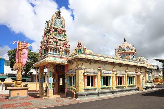 Hinduistický chrám v Port Louise