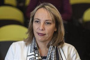 Dočasná generálna riaditeľka Renaultu Clotilde Delbosová.
