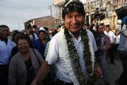 Opodporu voličov už po štvrtý raz uchádza aj súčasný líder Evo Morales.