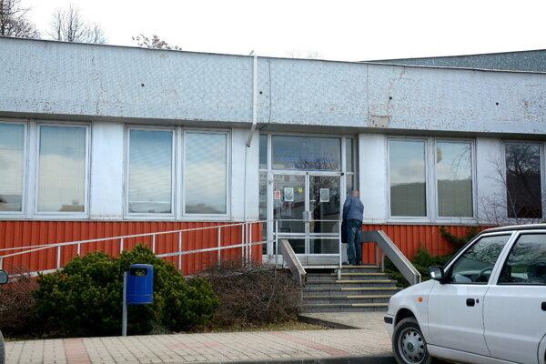 Budova Mestskej polície v Rožňave.