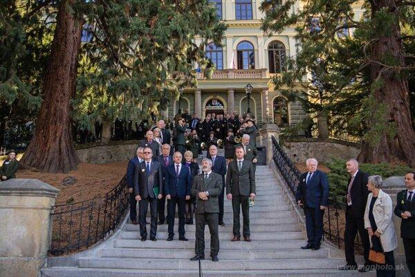 Lesnícka škola oslávila storočnicu.