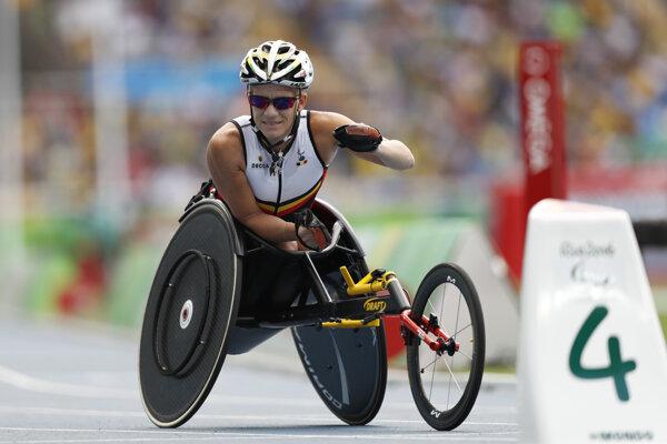 Marieke Vervoortová na paralympiáde v Riu 2016.