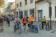 Budú môcť jazdiť cyklisti po pešej zóne? Aj o tom sa bude rokovať na mestskom zastupiteľstve.