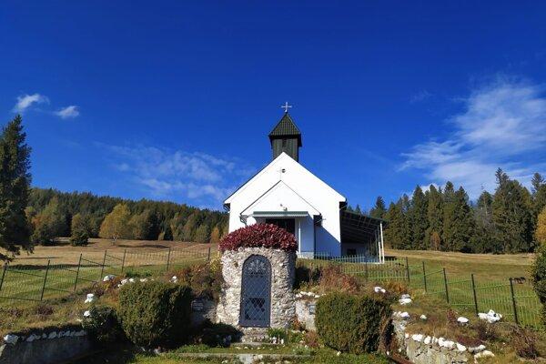 Kaplnka Panny Márie Snežnej v Úhornej.