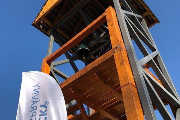 Nová vyhliadková veža.