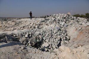 Miesto operácie americkej armády, pri ktorej bol Bagdádí zabitý.