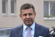 Minister životného prostredia László Sólymos.