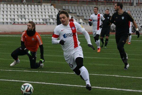 Prvý gól zimnej prípravy AS Trenčín strelil Karol Mondek.