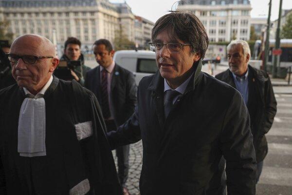 Bývalý katalánsky premiér Carles Puigdemont.