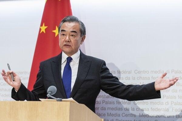 Čínsky minister zahraničia Wang Ji.