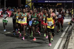 Maratón na MS v atletike 2019 v Dauhe - ilustračná fotografia.