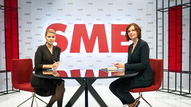 Veronika Remišová a Zuzana Kovačič Hanzelová v relácii Rozhovory ZKH.
