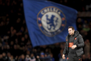 Tréner Chelsea Frank Lampard.