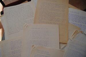 Letáky z roku 1989 zo súkromného archívu autora.