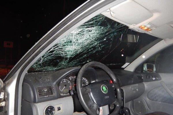 V januári tohto roku na ceste došlo k nehode, pri ktorej sa vážne zranil chodec.