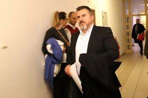 Ján Kán na Okresnom súde v Banskej Bystrici.