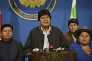 Evo Morales odstúpil z funkcie bolívijského prezidenta.