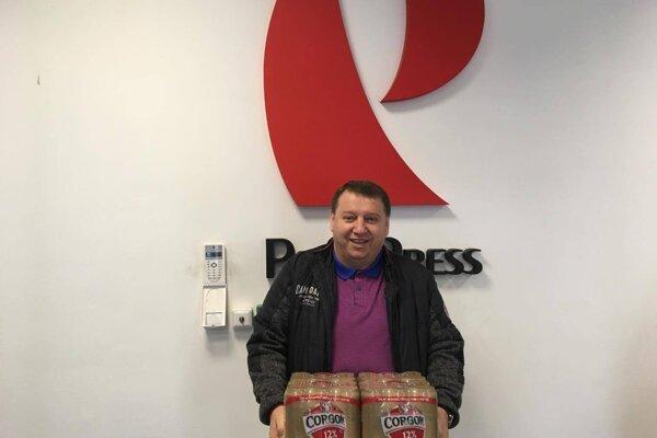 V 13. kole si odniesla kartón piva Corgoň od spoločnosti Heineken Ján Révay zo Šale.