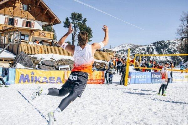 Volejbal na snehu mieri na Donovaly