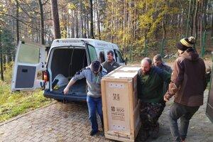 Transport kozorožcov kaukazských z Národnej zoo Bojnice do českých Zoo Olomouc a Zoo Dečín.