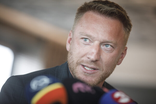 Slovenská hokejová legenda Marián Hossa.