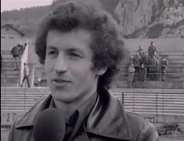 Peter Ančic v časoch hráčskej kariéry