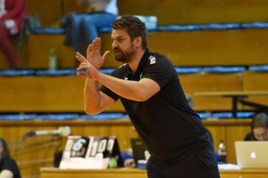 Tréner Hit UCM Trnava Rastislav Filípek.
