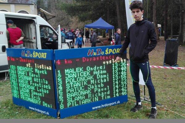 Ondrej Malek bol cez víkend v Betliari najrýchlejší.