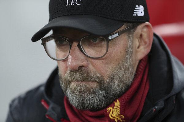 Tréner FC Liverpool Jurgen Klopp.